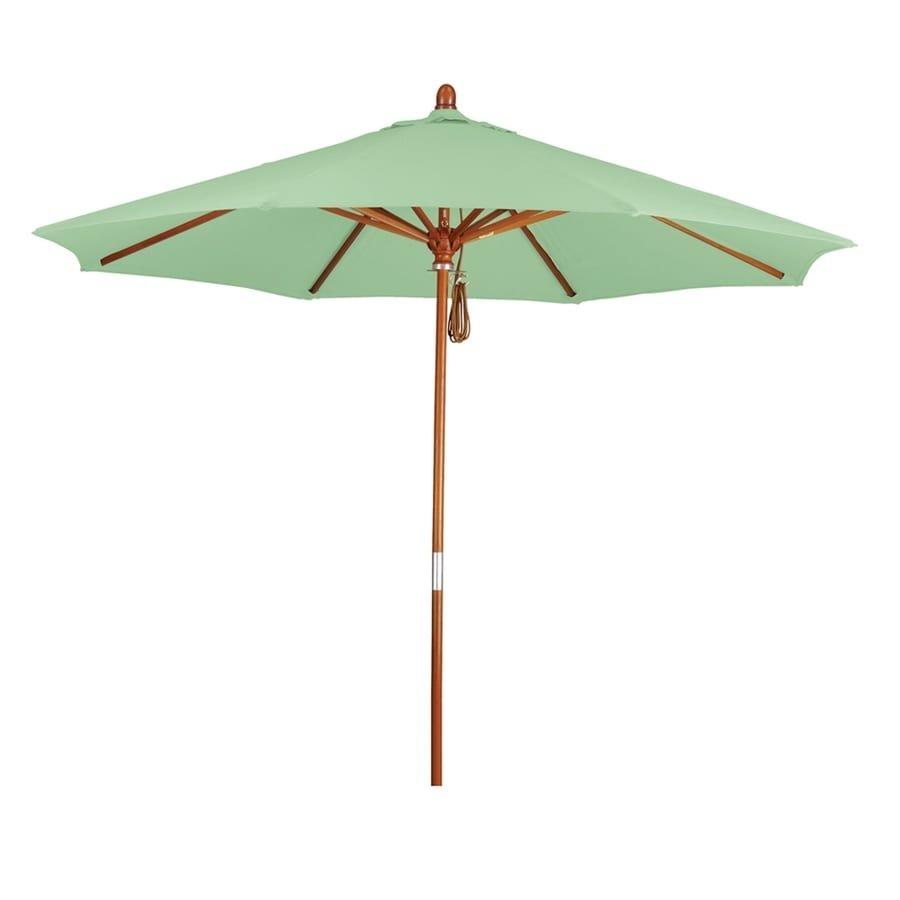 California Umbrella Grove Spa Market Patio Umbrella (Common: 9-ft W x 9-ft L; Actual: 9-ft W x 9-ft L)