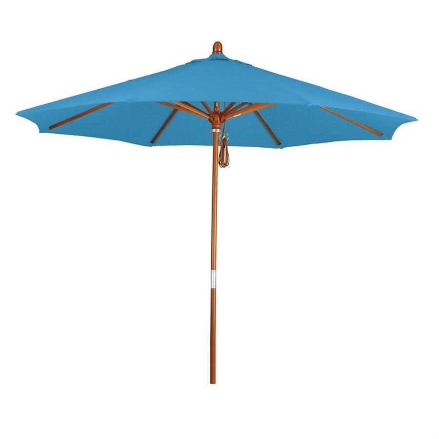 California Umbrella Grove Capri Market Patio Umbrella (Common: 9-ft W x 9-ft L; Actual: 9-ft W x 9-ft L)