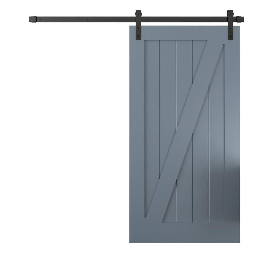 Shop urban woodcraft california gray solid core z frame for 40 inch interior barn door