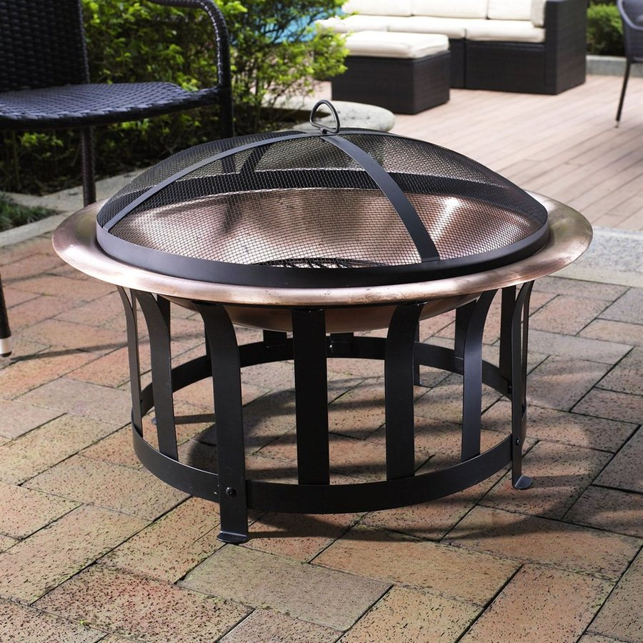 Outdoor Fireplace Kits Lowes Fireplace Outdoor Fireplace: Crosley Furniture Black Steel Outdoor Wood-Burning