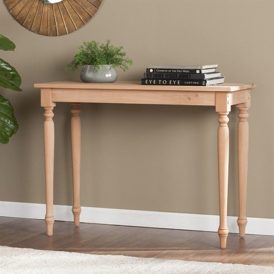 Boston Loft Furnishings DIY Mahogany Console Table