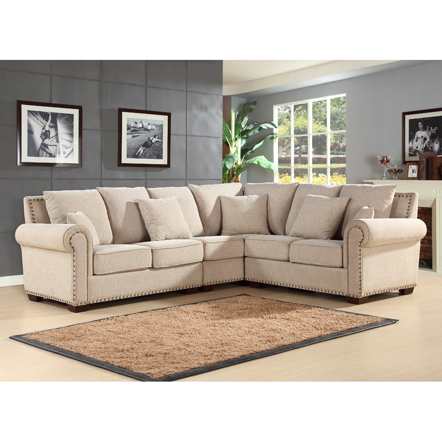 Pacific Loft Bromley Sandstone Sectional