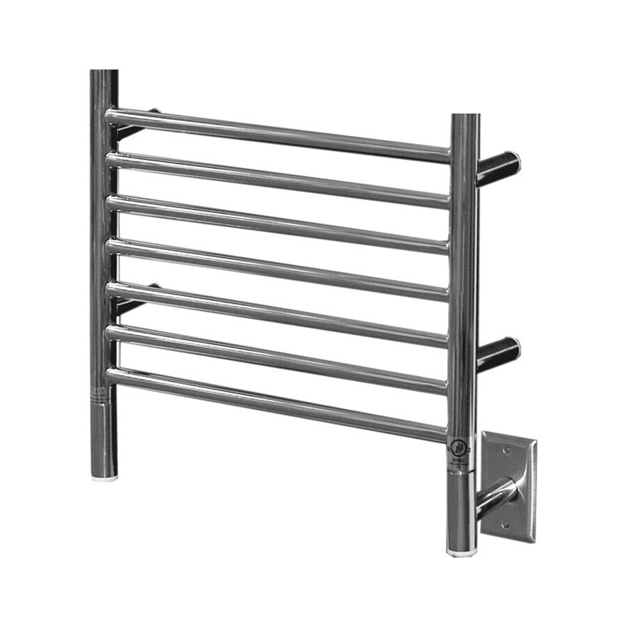 Decorative Towel Warmers : Shop amba polished chrome towel warmer at lowes