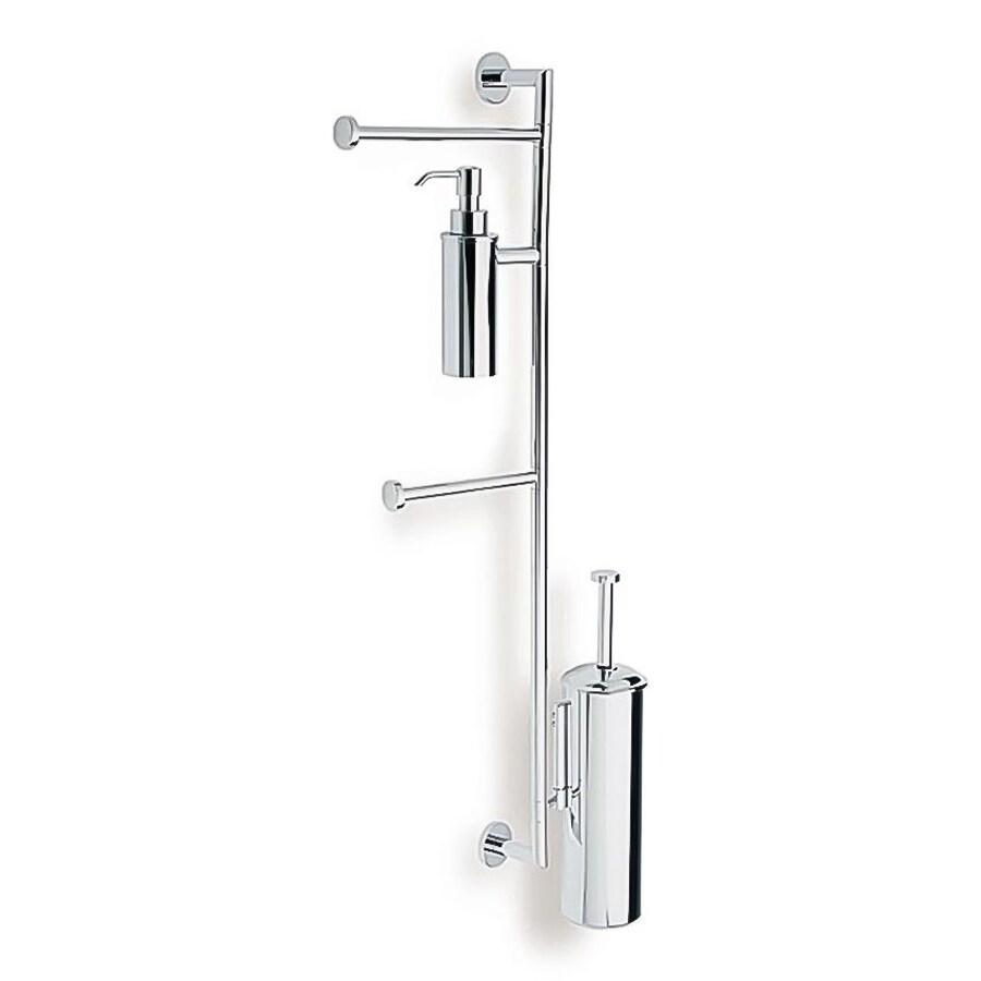 Nameeks Medea Chrome Brass Toilet Brush Holder