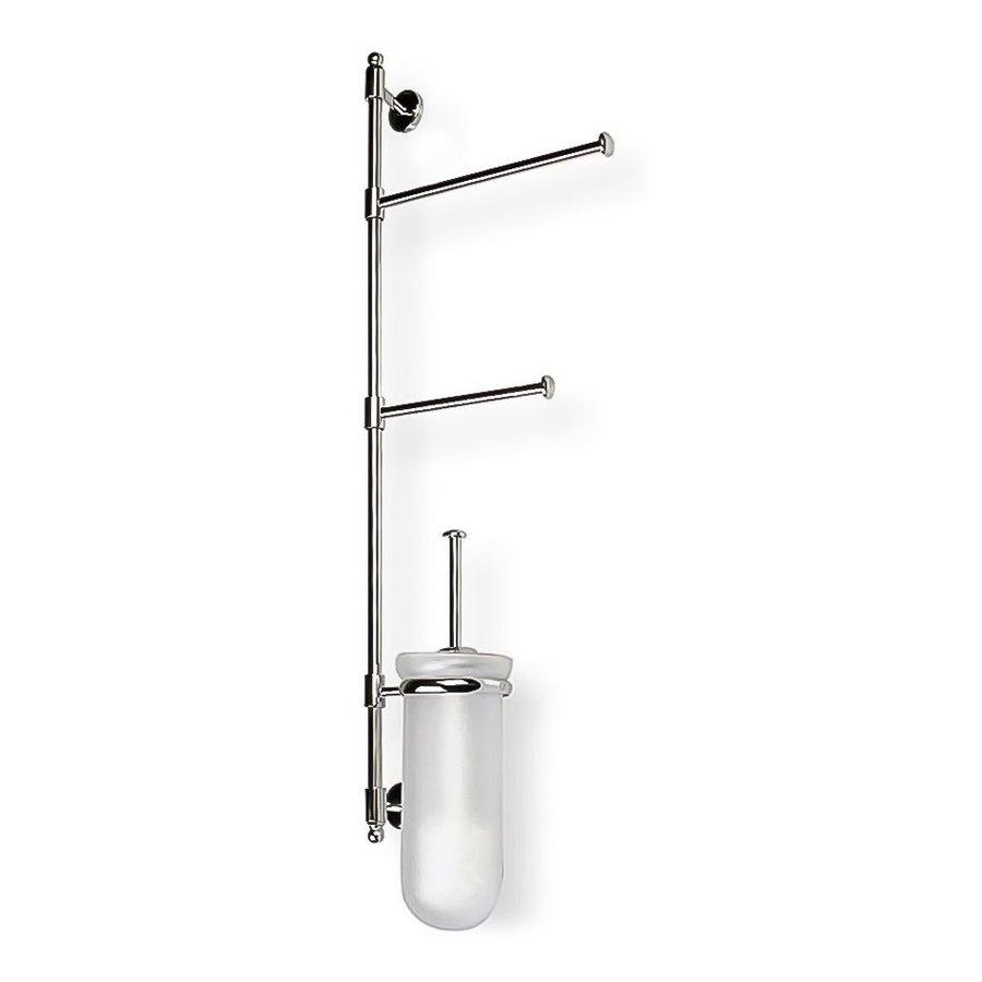 Nameeks Pegaso Chrome Brass Toilet Brush Holder