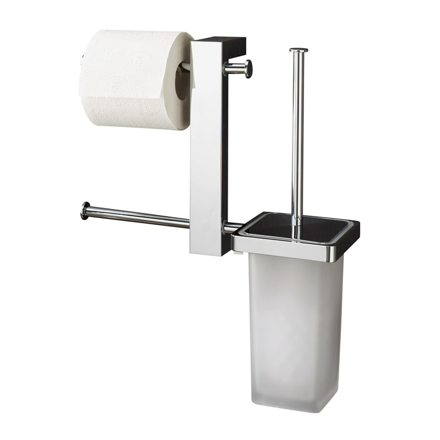 Nameeks Bridge Chrome Brass Toilet Brush Holder