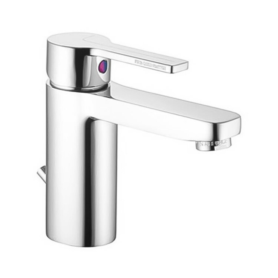 Nameeks Matrix Brushed Nickel 1-handle Single Hole Bathroom Faucet
