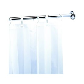 nameeks standard hotel 741in chrome adjustable single shower curtain rod - Shower Rods