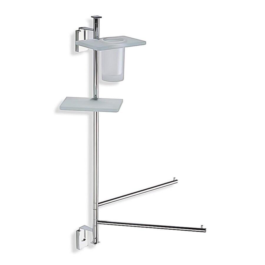 Nameeks Quid Butler Chrome Brass Bathroom Coordinate Set