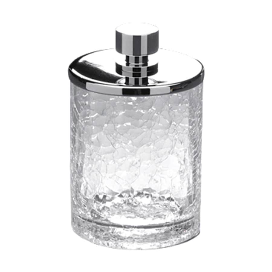 Nameeks Windisch Chrome Glass Bathroom Canister