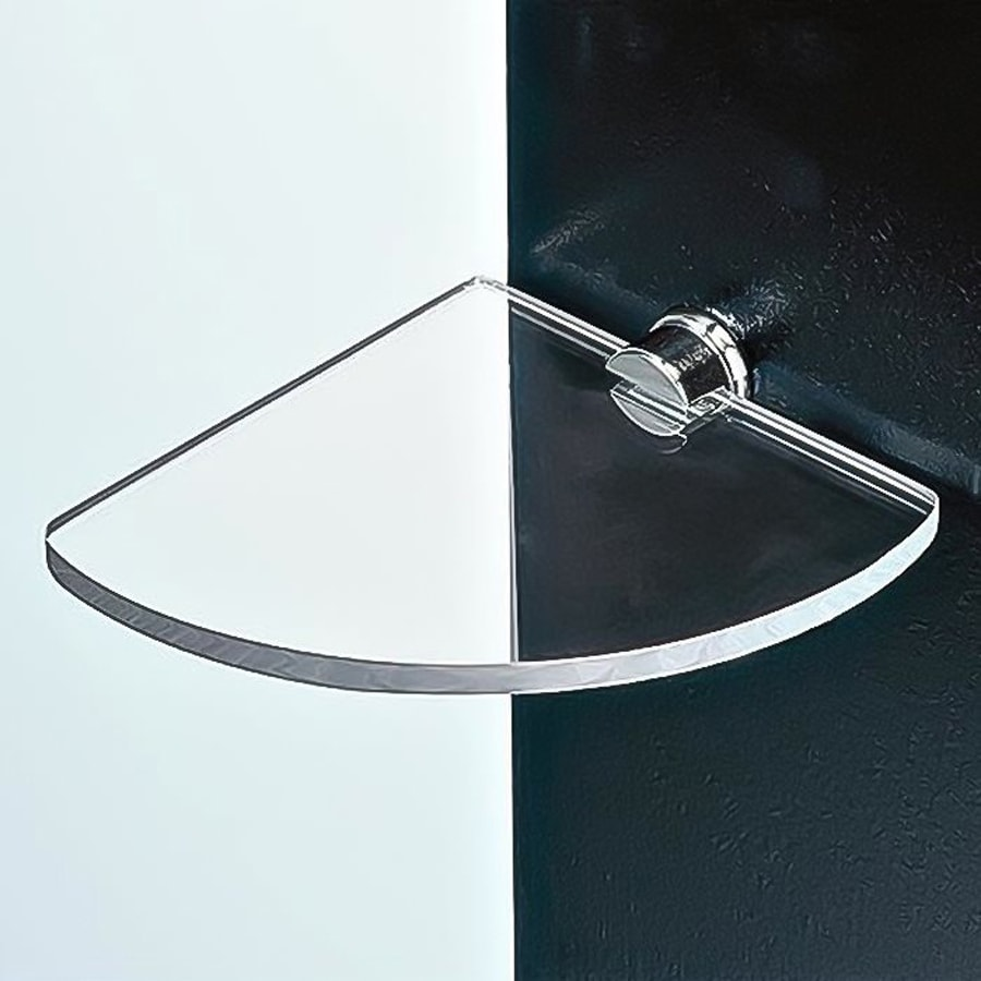 Nameeks 0.6-in H Screw Mount Plastic Chrome Hanging Shower Caddy
