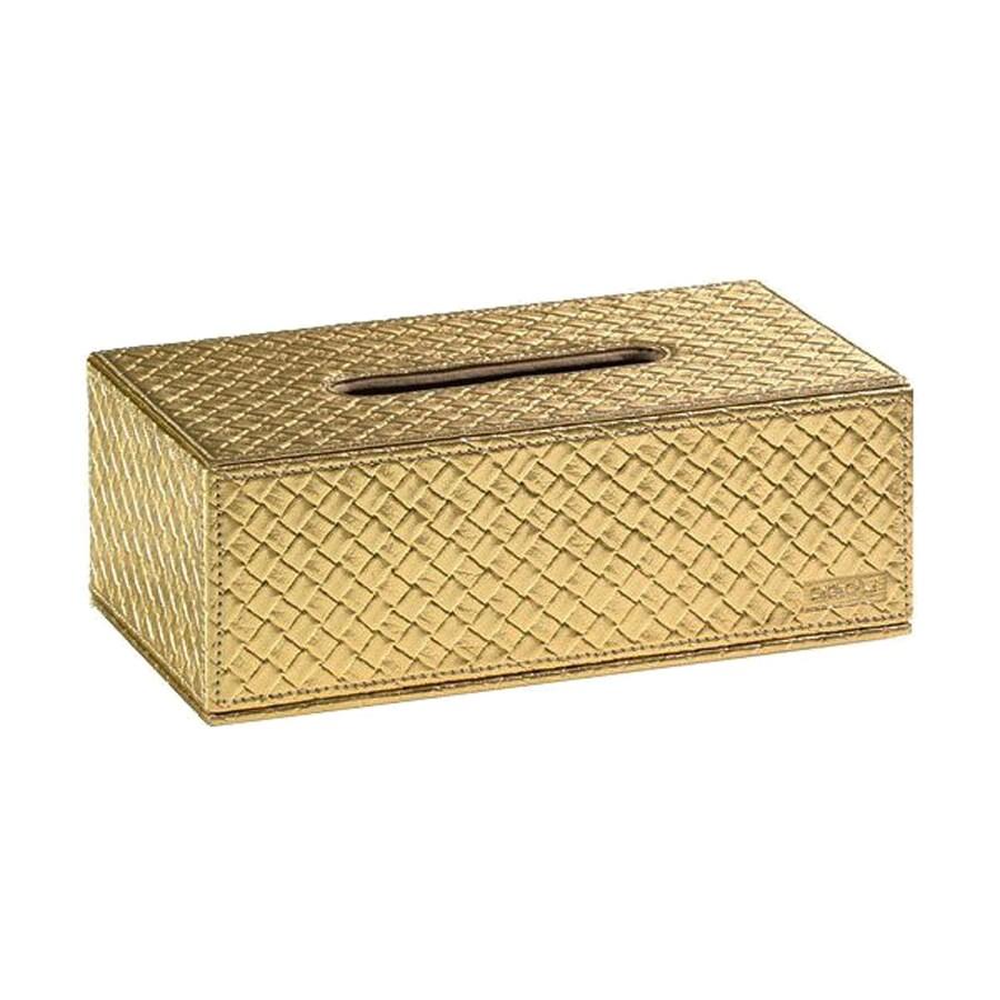Nameeks Marrakech Gold Box Tissue Holder