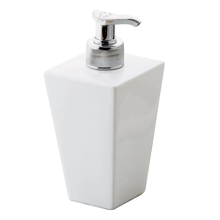 Nameeks Jamila White Soap and Lotion Dispenser