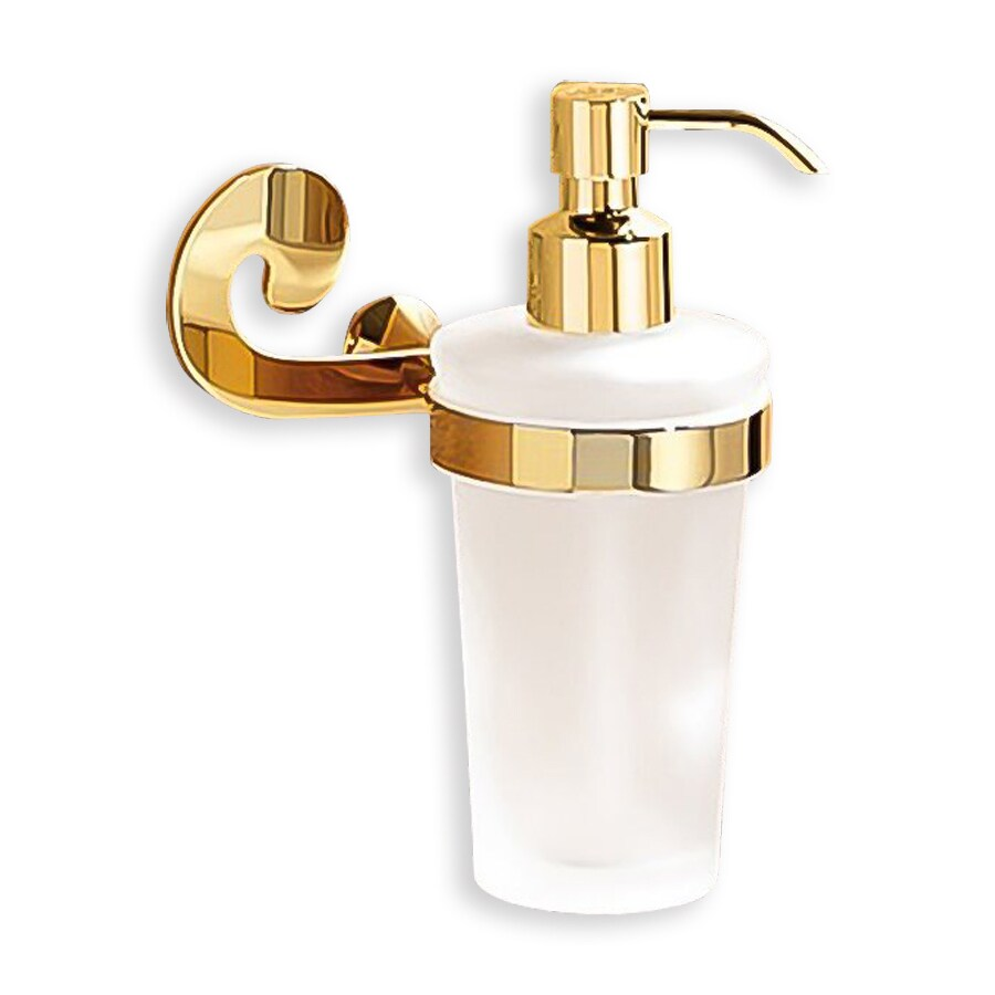 Nameeks Sissi Gold Soap and Lotion Dispenser