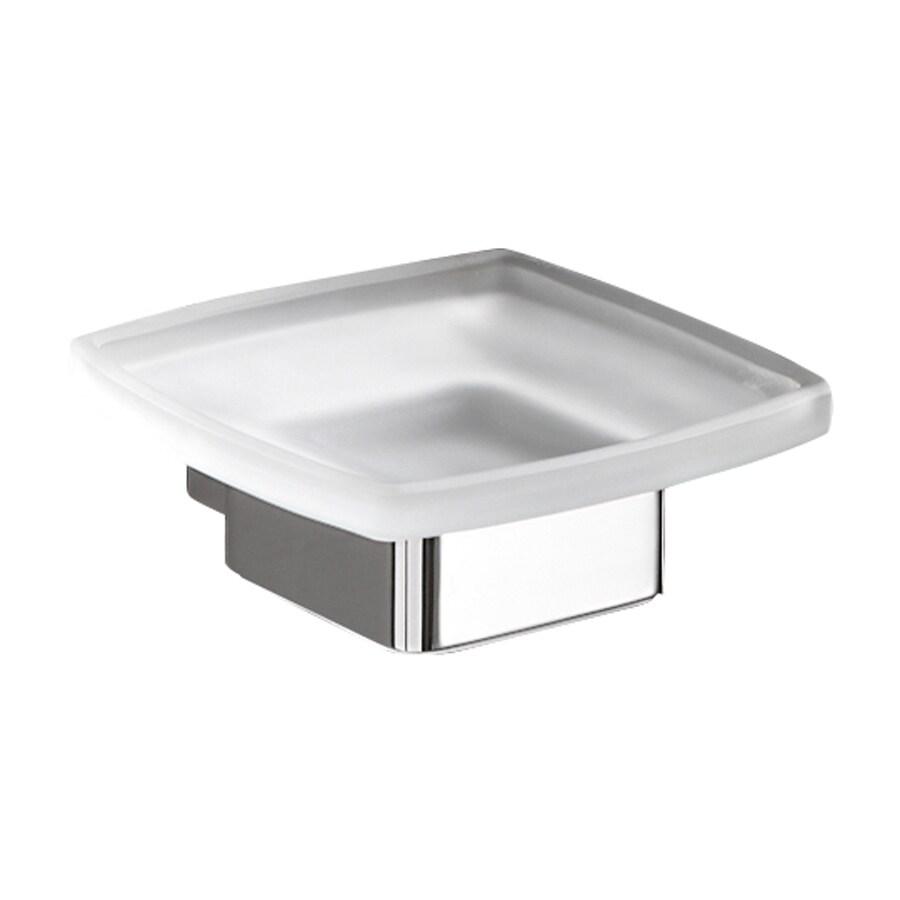 Nameeks Lounge Polished Chrome Brass Soap Dish