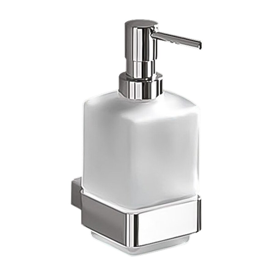 Nameeks Lounge Polished Chrome Soap and Lotion Dispenser