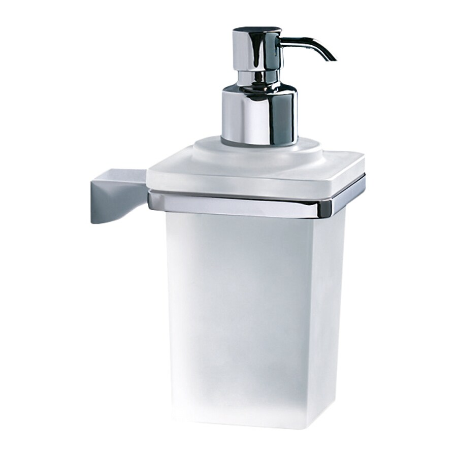 Nameeks Glamour Polished Chrome Soap and Lotion Dispenser