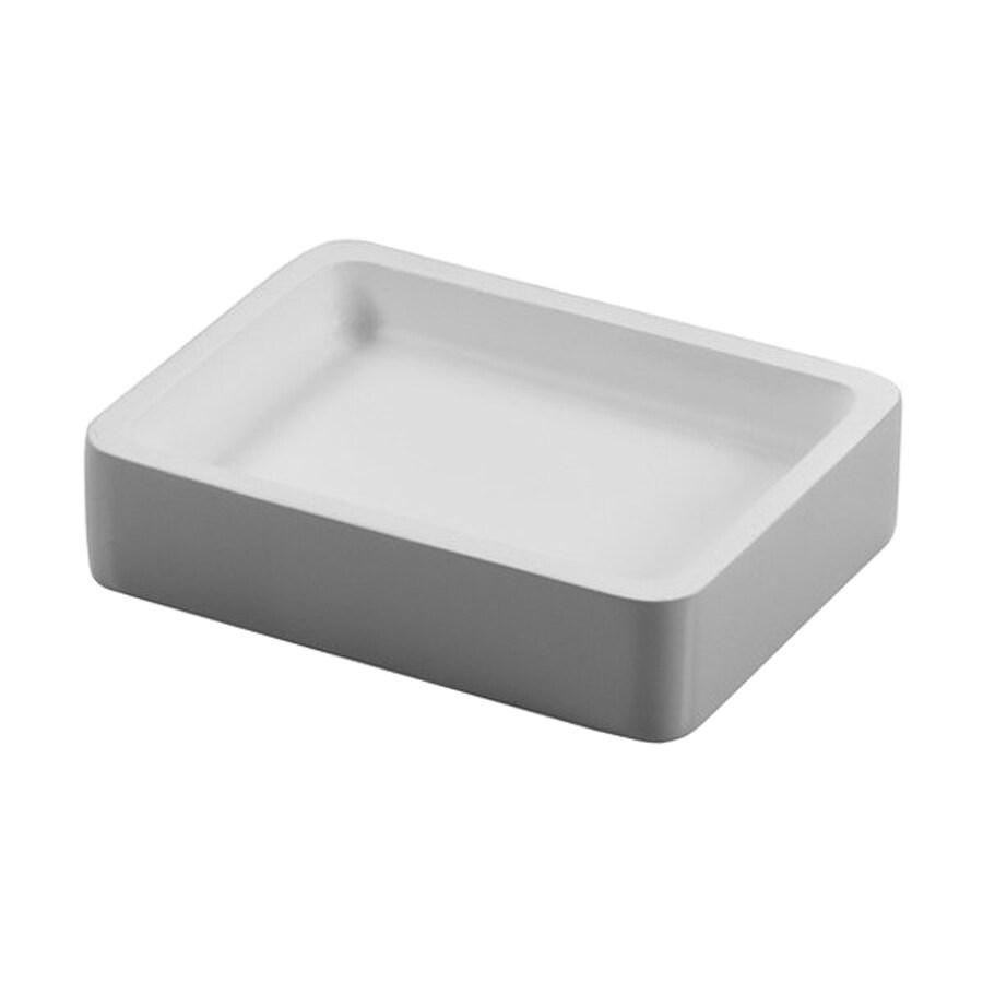 Nameeks Arianna Silver Resin Soap Dish