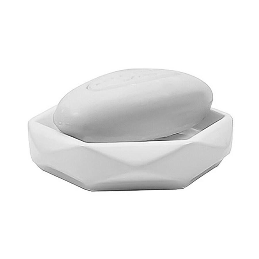 Nameeks Dalia White Ceramic Soap Dish