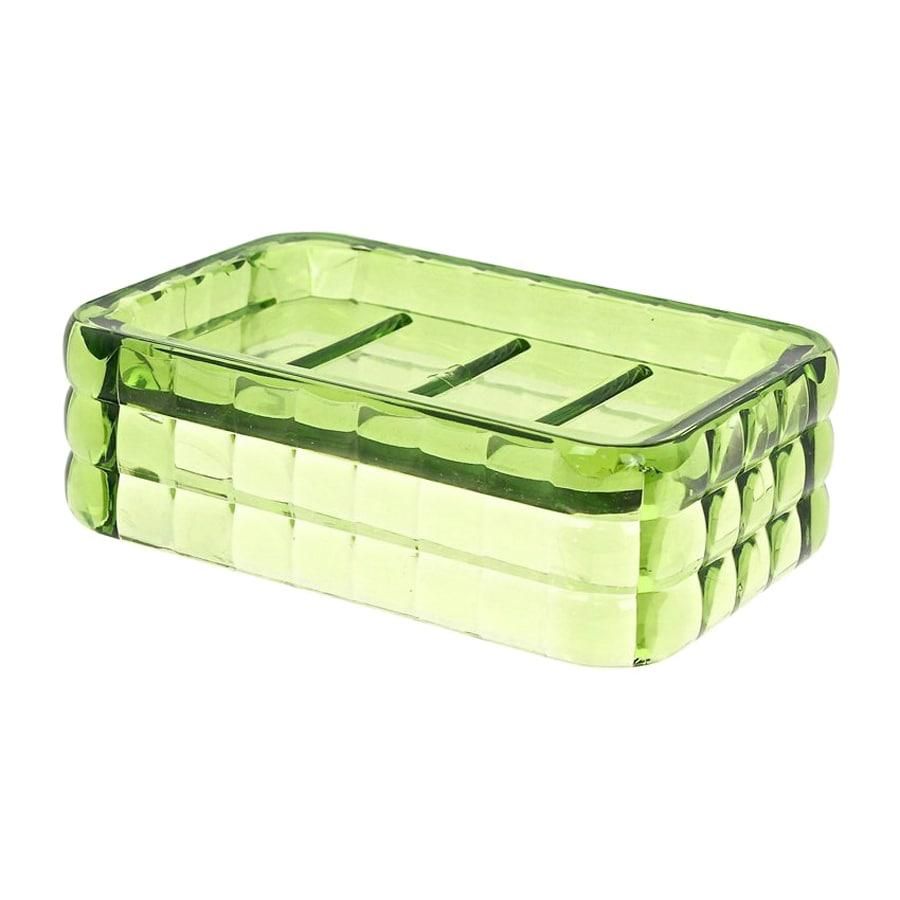 Nameeks Glady Avocado Green Plastic Soap Dish