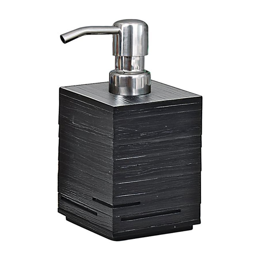 Nameeks Quadrotto Black Soap and Lotion Dispenser
