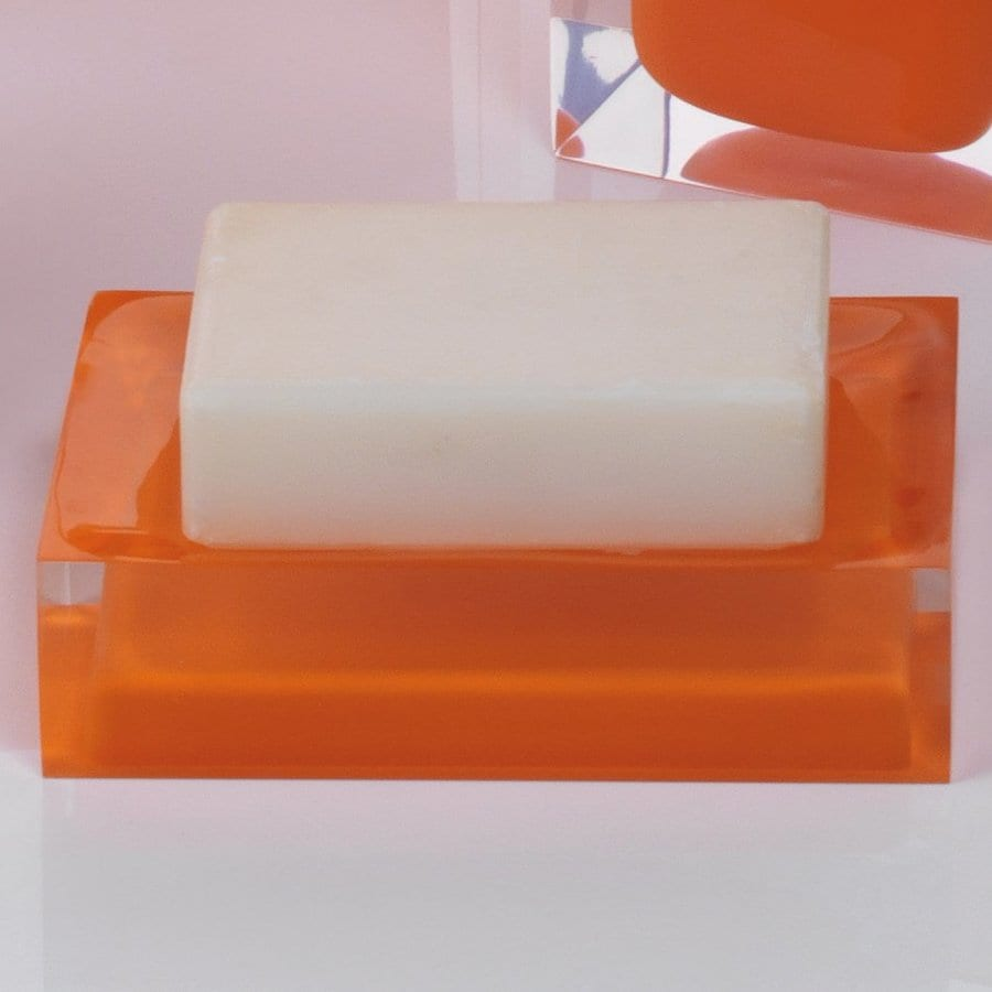 Nameeks Rainbow Orange Resin Soap Dish