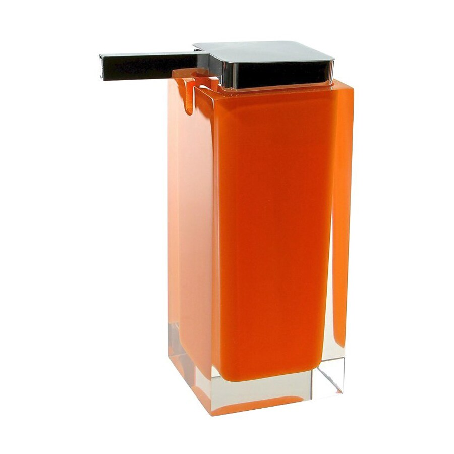 Nameeks Rainbow Orange Soap and Lotion Dispenser