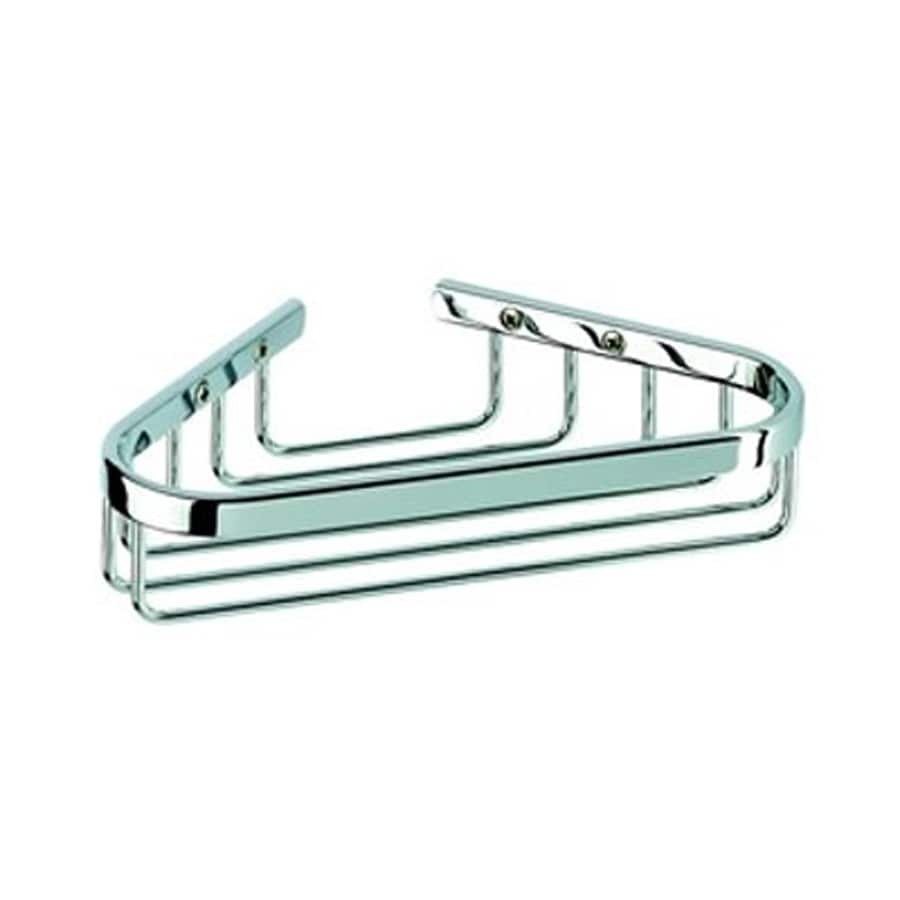 Nameeks Basket Polished Chrome Brass Soap Dish