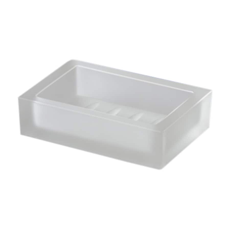 Nameeks Windisch Frosted Crystal Glass Soap Dish