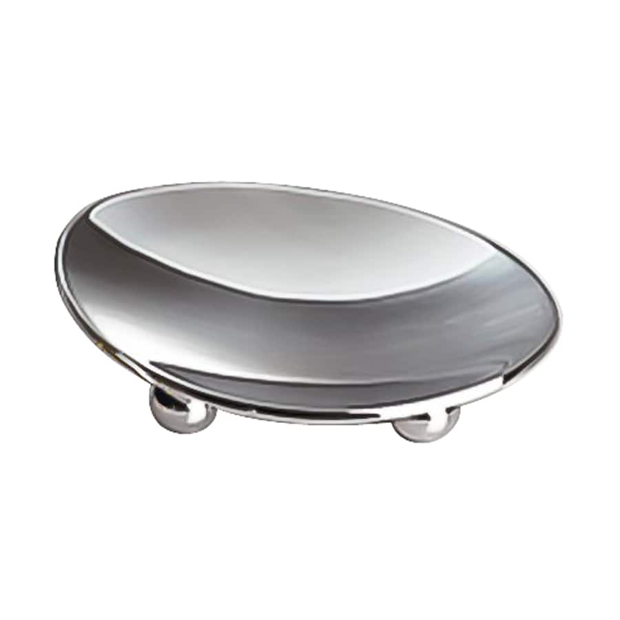 Nameeks Windisch Polished Chrome Brass Soap Dish
