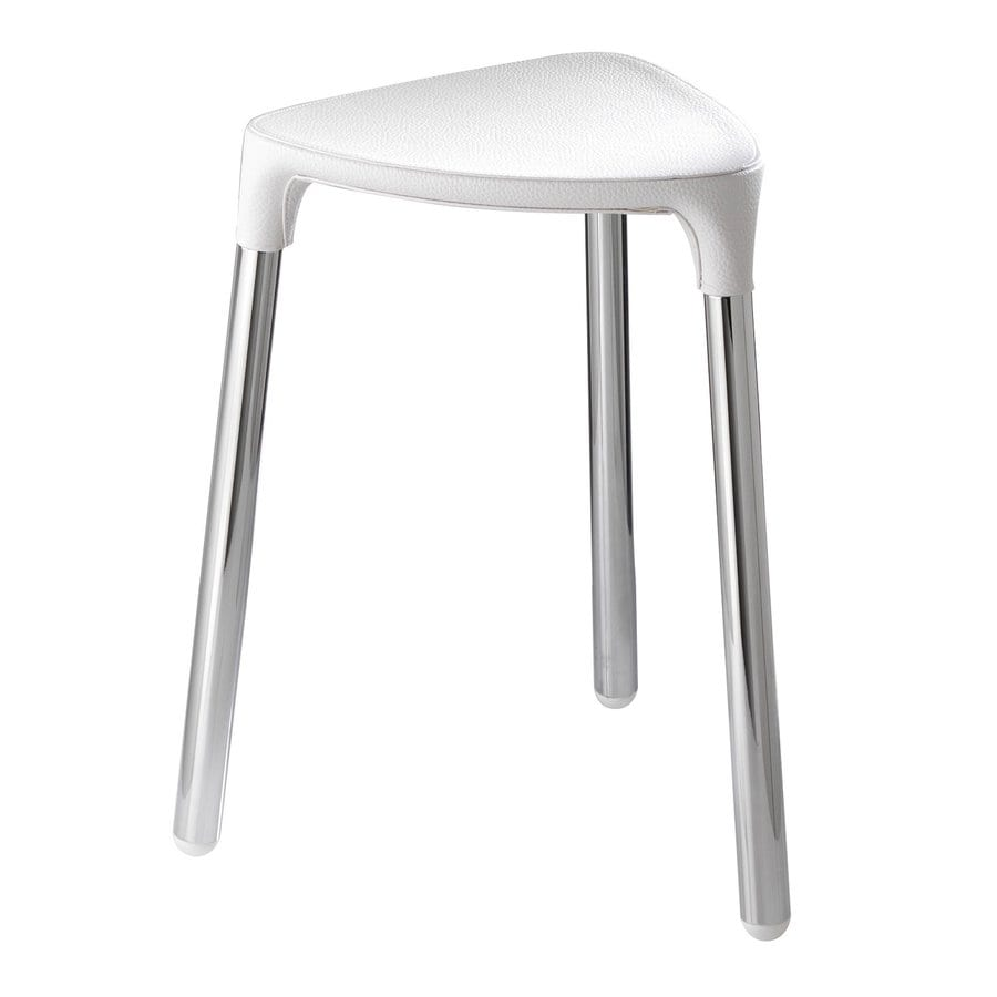 Shop Nameeks White Composite Freestanding Shower Chair at Lowes.com
