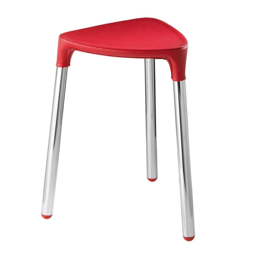 Nameeks Red Composite Freestanding Shower Chair