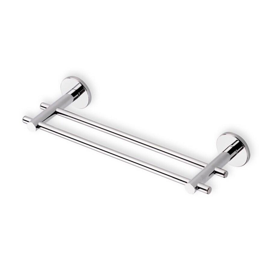 Nameeks Venus Chrome Double Towel Bar (Common: 12-in; Actual: 11.8-in)