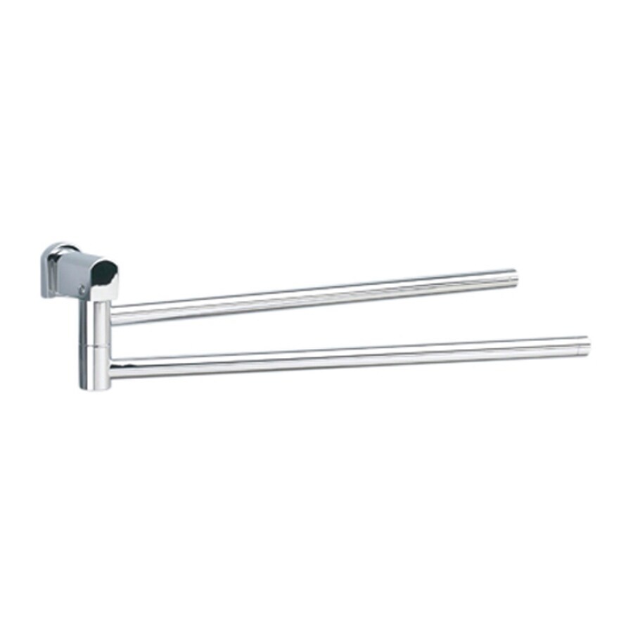 Nameeks Bellaterra Chrome Double Towel Bar (Common: 18-in; Actual: 18-in)