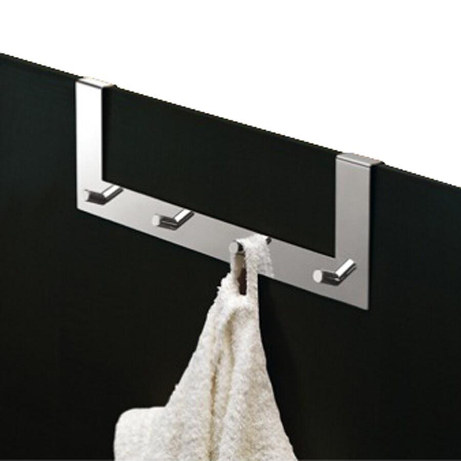 Nameeks Appendiabitti 4-Hook Chrome Towel Hook