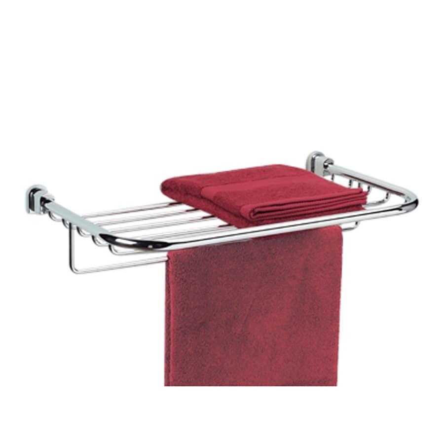 Nameeks Bellaterra Chrome Rack Towel Bar (Common: 23-in; Actual: 23-in)