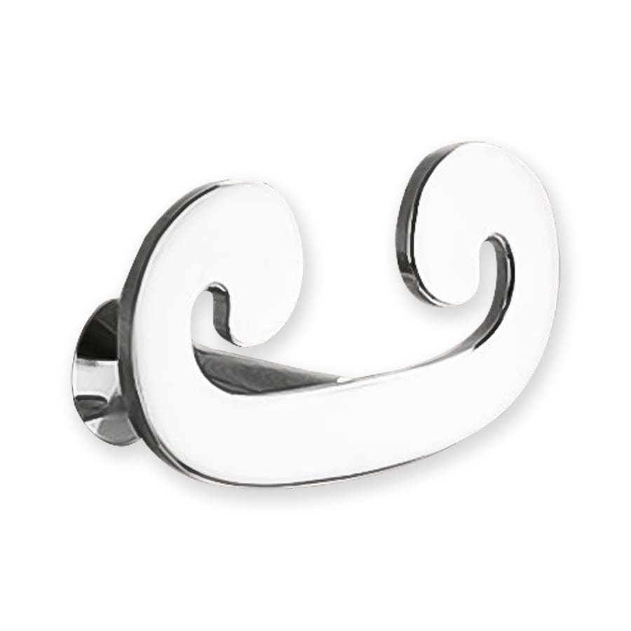 Nameeks Sissi 2-Hook Chrome Towel Hook