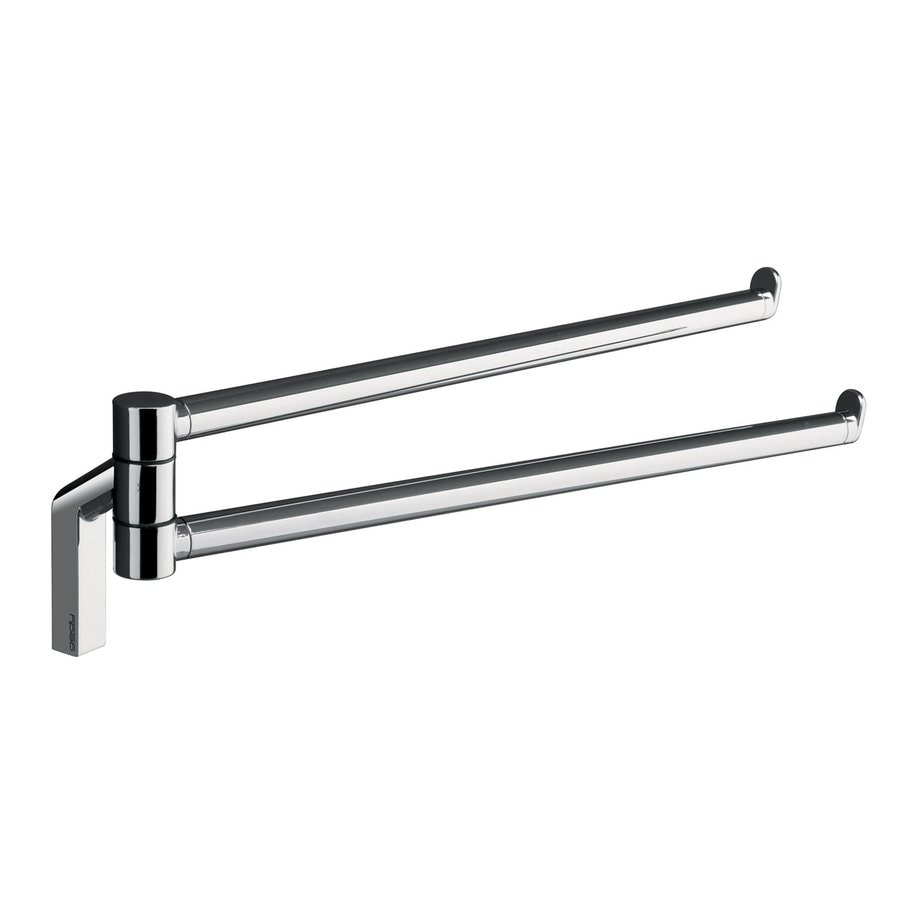 Nameeks Karma Chrome Double Towel Bar (Common: 13-in; Actual: 13-in)