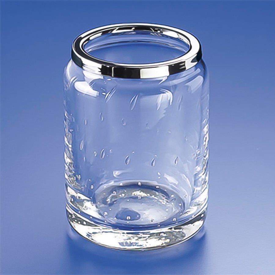 Nameeks Windisch Chrome Glass Tumbler