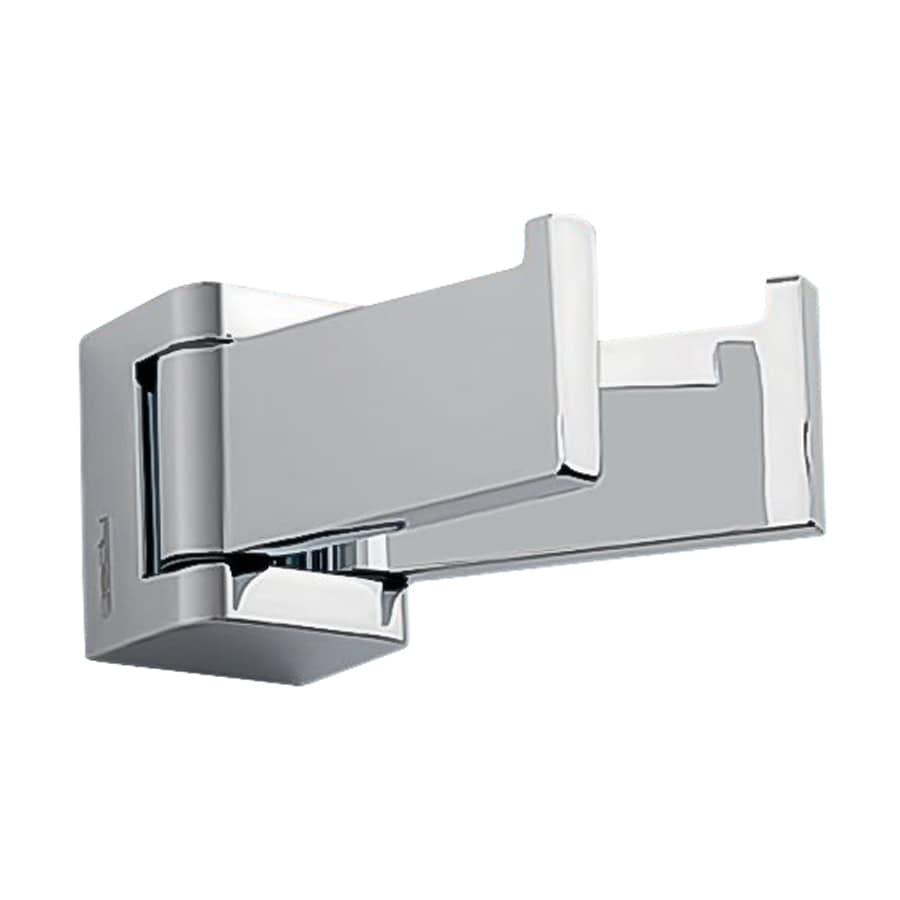 Nameeks Glamour 2-Hook Chrome Towel Hook