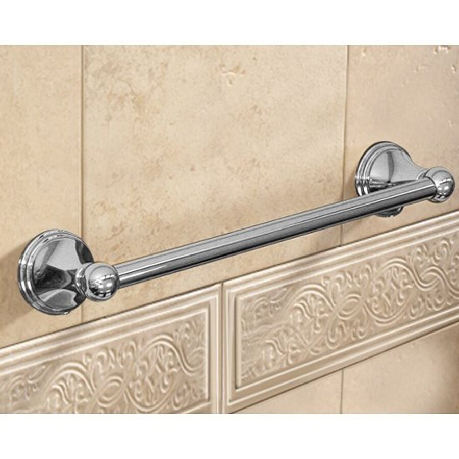 Nameeks Romance Chrome Single Towel Bar (Common: 18-in; Actual: 18-in)