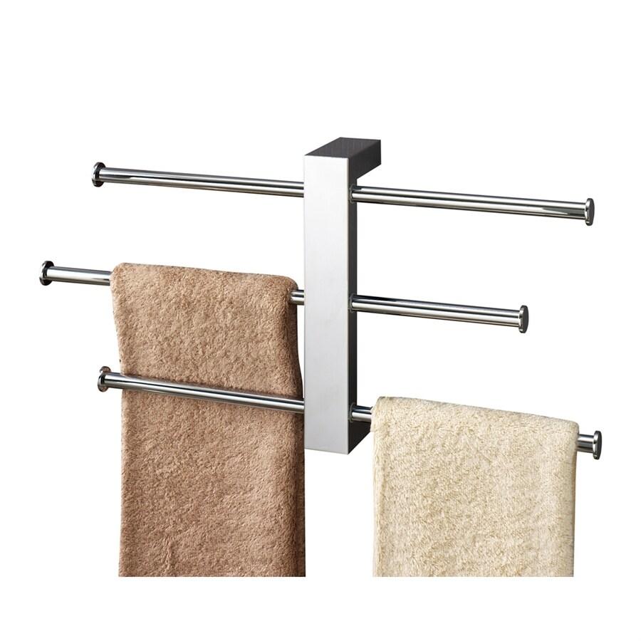 Nameeks Bridge Chrome Triple Towel Bar (Common: 16-in; Actual: 16-in)