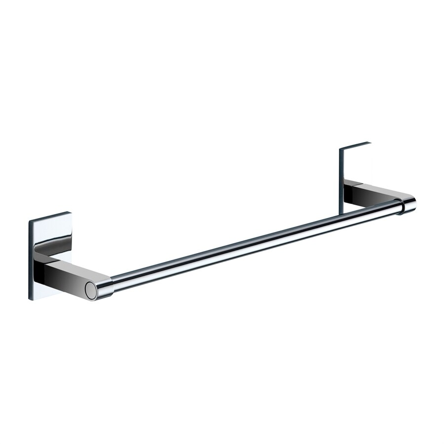 Nameeks Maine Chrome Single Towel Bar (Common: 14-in; Actual: 14-in)