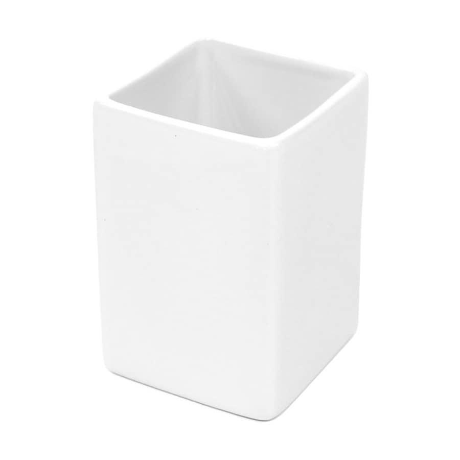 Nameeks Verbena White Ceramic Tumbler