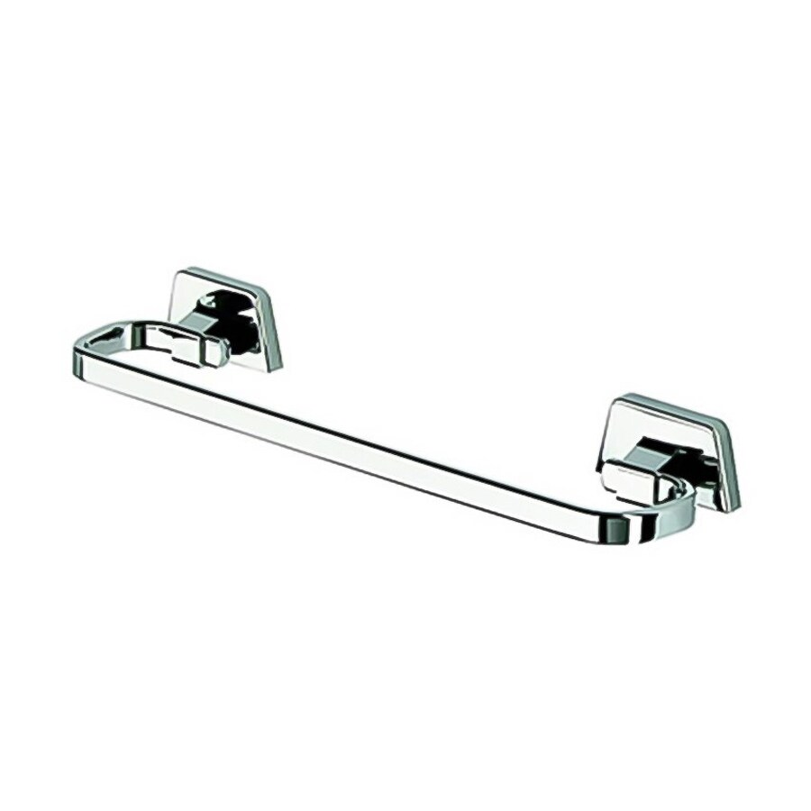 Nameeks Standard Hotel Chrome Single Towel Bar (Common: 16-in; Actual: 15.6-in)