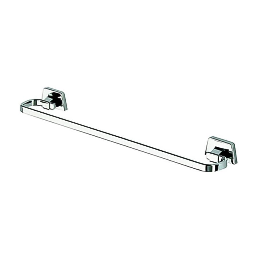 Nameeks Standard Hotel Chrome Single Towel Bar (Common: 23-in; Actual: 23.4-in)