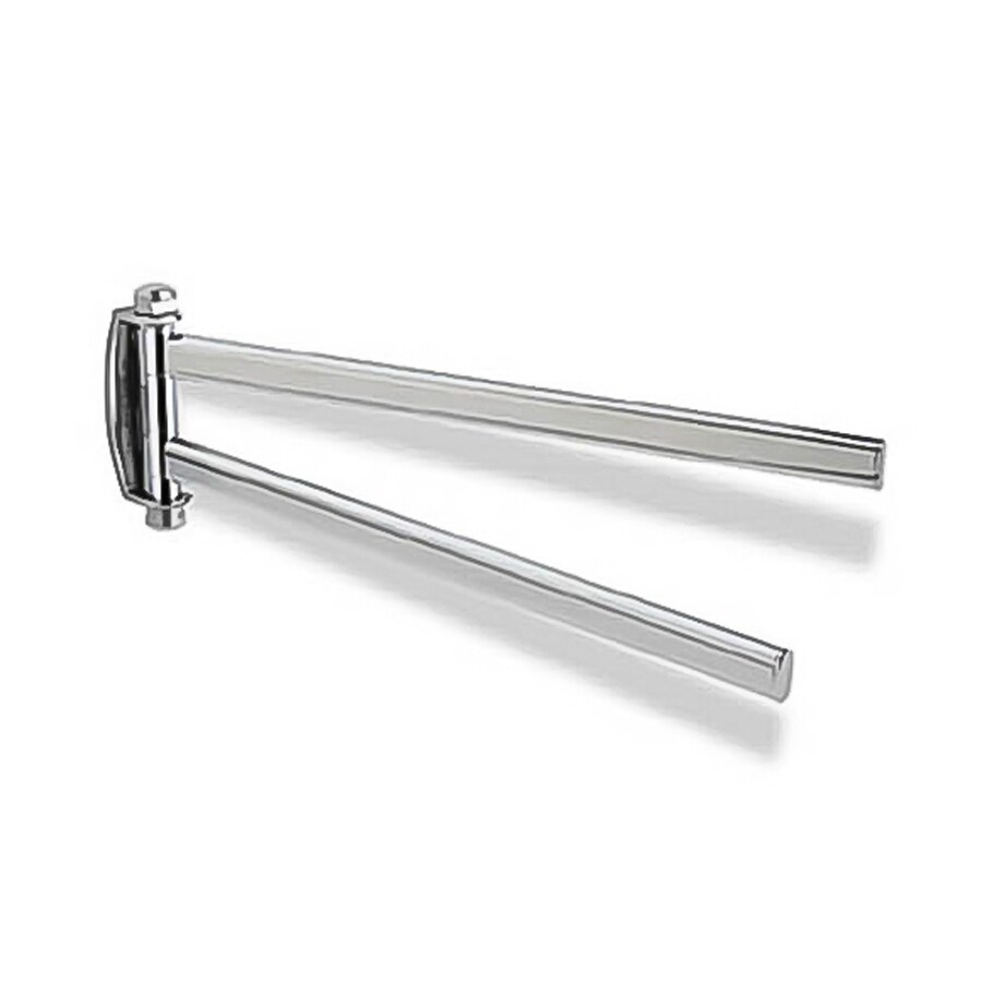 Nameeks Diana Chrome Double Towel Bar (Common: 13-in; Actual: 13-in)