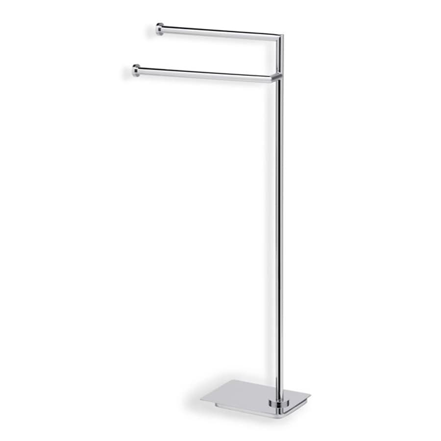 Nameeks Medea Chrome Double Towel Bar (Common: 8-in; Actual: 8-in)