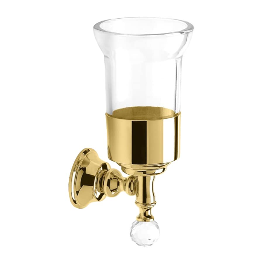 Nameeks Smart Light Gold Glass Tumbler