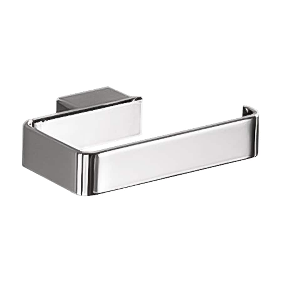 Nameeks Lounge Chrome Surface Mount Single Post with Arm Toilet Paper Holder